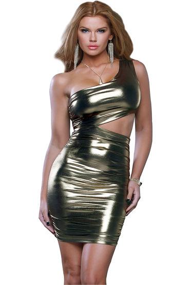Forplay Lingerie мини-платье, На одно плечо - Размер M