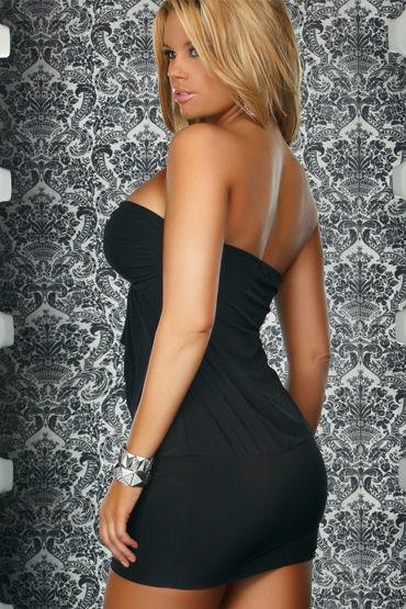 Forplay Lingerie мини-платье С красивой брошкой на груди