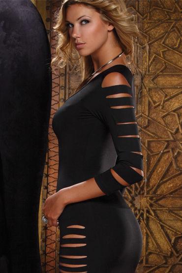 Forplay Lingerie мини-платье С пикантными прорезями