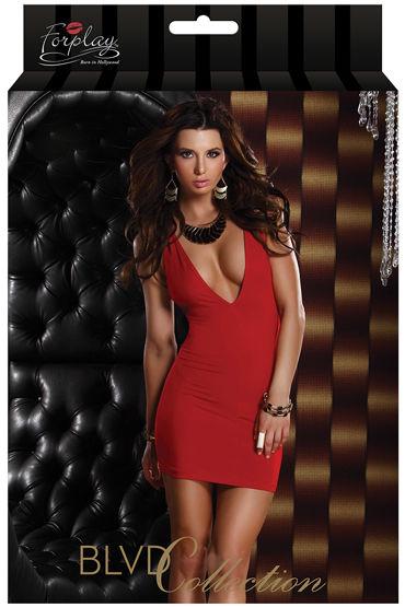 Forplay Lingerie мини-платье С V-образным декольте