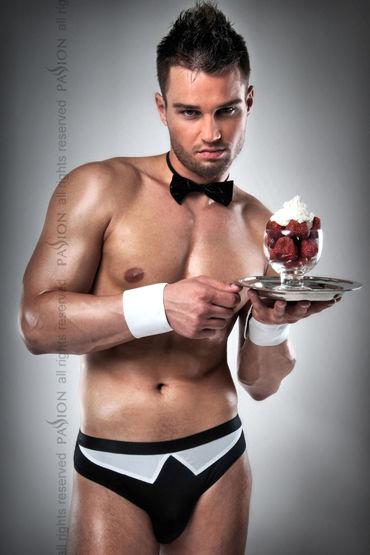 Passion Официант Трусы-стринги, галстук-бабочка и манжеты на руки
