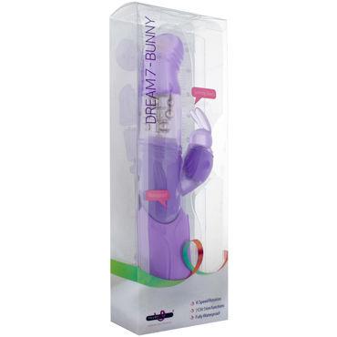 Seven Creations Dream 7 Bunny, фиолетовый Мультискоростной вибратор с зайчиком