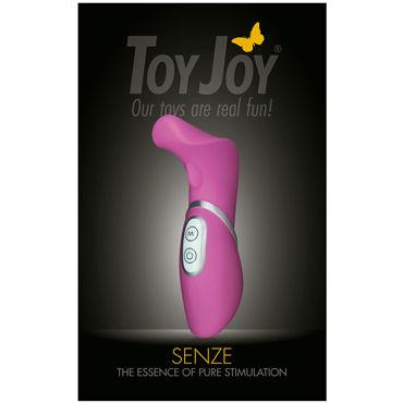 Toy Joy Senze Vibrating Stimulator Стильный вибромассажер клитора