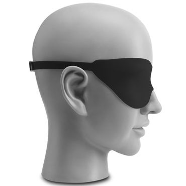 Pipedream Fantasy Love Mask, черная Маска на застежках