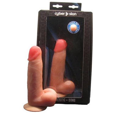 Bioclon Фаллоимитатор Реалистик, телесный С мошонкой, в картонной упаковке