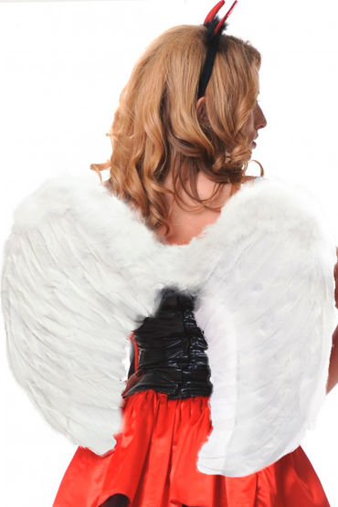 Le Frivole крылья, белые, Закругленные, 60х50 см