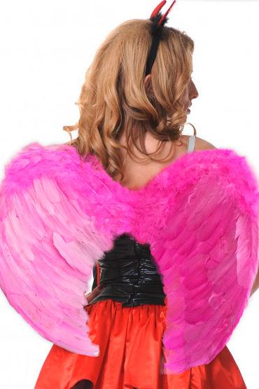 Le Frivole крылья, розовые, Закругленные, 60х50 см