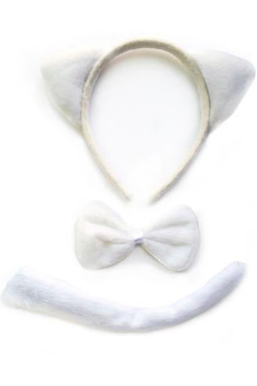 Le Frivole Кошка, белый Ушки, бабочка и хвостик