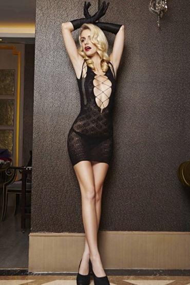 Le Frivole мини-платье С эффектным декольте