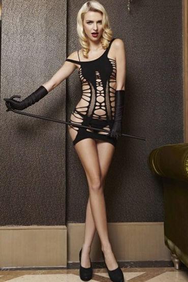 Le Frivole мини-платье С эротичными разрезами