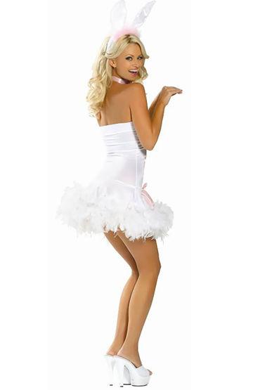 Le Frivole Пасхальный Кролик Игривое мини-платье и ушки