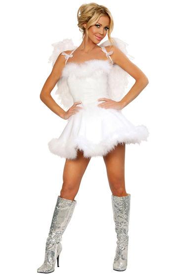 Le Frivole Беспечный Ангел, Роскошное расклешенное платье - Размер S-M от condom-shop.ru