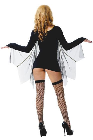 Le Frivole Летучая Мышь Платье с крыльями, маска и чулки