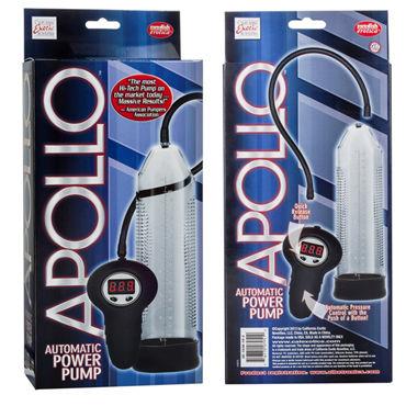 California Exotic Apollo Automatic Power Pumps, прозрачная Автоматическая вакуумная помпа
