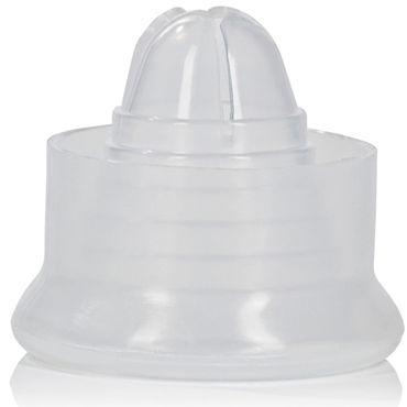 California Exotic Silicone Pump Sleeves, прозрачная Насадка для помпы