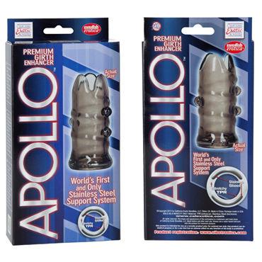 California Exotic Apollo Premium Girth Enhancers, серая Насадка на пенис