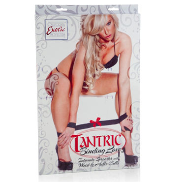 California Exotic Tantric Binding Love Intimate Spreader with Wrist & Ankle Cuffs Аксессуар для фиксации рук и ног