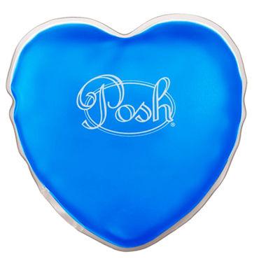California Exotic Posh Warm Heart Massagers, синий Массажер нагревающийся при сгибании диска