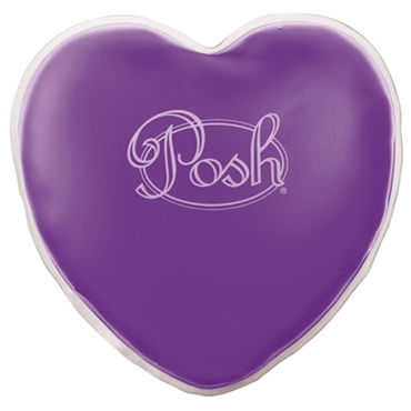 California Exotic Posh Warm Heart Massagers, фиолетовый Массажер нагревающийся при сгибании диска