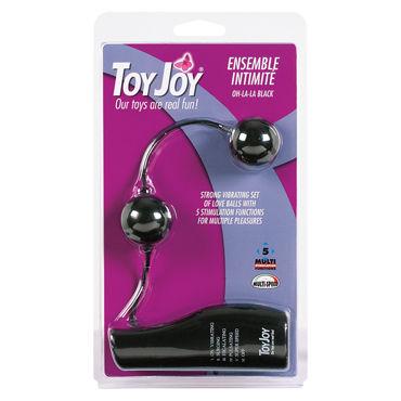 Toy Joy Ensemble Intimite Vibrating, черные Шарики с вибрацией