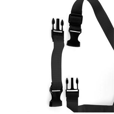 Pipedream Tru-Fit Vibrating Strap-On, черный Вибрострапон на трусиках