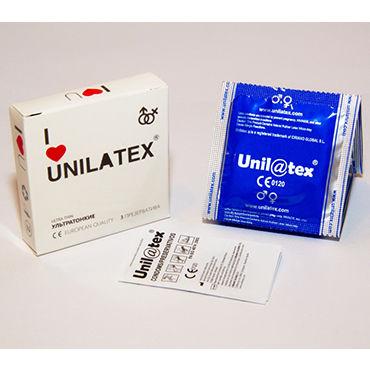 Unilatex Ultra Thin Презервативы ультратонкие