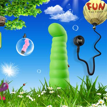 Fun Factory Little Paul, зеленый Компактный вибратор точки G