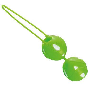 Fun Factory Teneo Duo, зеленый Шарики для тренировки мышц влагалища