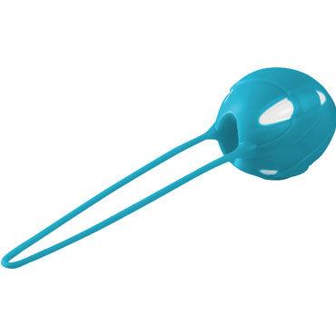 Fun Factory Smartballs Uno, голубой Вагинальный шарик со смещенным центром тяжести