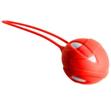 Fun Factory Smartballs Uno, оранжевый Вагинальный шарик со смещенным центром тяжести