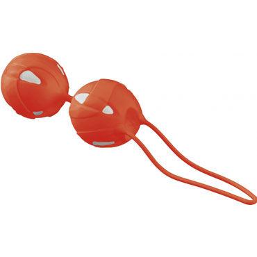 Fun Factory Teneo Duo, оранжевый Шарики для тренировки мышц влагалища