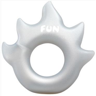 Fun Factory LoveRing Flame, серебряный Упругое и эластичное эрекционное кольцо