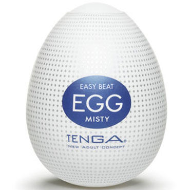 Tenga Egg Misty Одноразовый мастурбатор с рельефом в виде микроскопических выступов