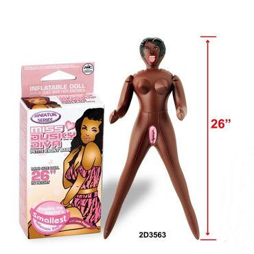 LoveToy Miss Dusky Diva Шоколадная миниатюрная секс- красотка