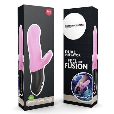 Fun Factory Bi Stronic Fusion, розовый Пульсатор со стимуляцией клитора