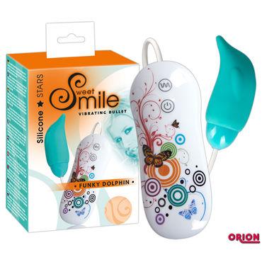Smile Funky Dolphin Вибропуля в форме дельфина