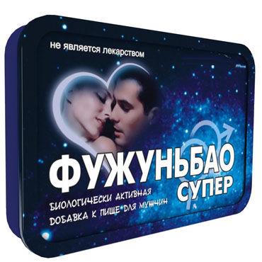 Фужуньбао Cупер, 2 шт, Препарат, усиливающий половое влечение от condom-shop.ru