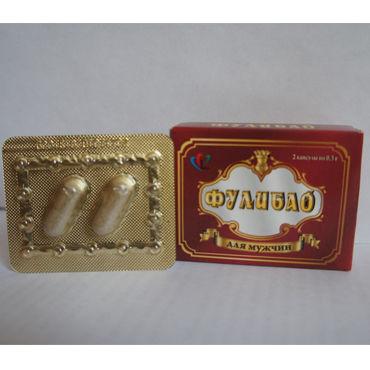 Фулибао, 2 шт, Профилактический препарат для мужчин от condom-shop.ru