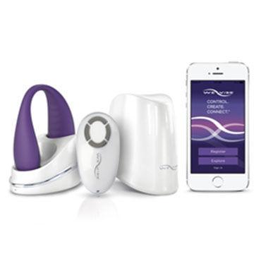 We-Vibe Classic, фиолетовый Классический вибратор для пар в новом дизайне с уникальным дистанционным управлением