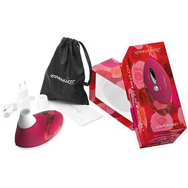 Womanizer Pro, красный Вакуумный стимулятор клитора, улучшенная версия