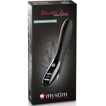 Mystim Electric Eric E-Stim Vibe Black Edition Вибратор для электростимуляции в новом цвете