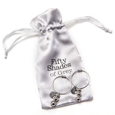 Fifty Shades of Grey Pleasure and Pain Nipple Rings Украшения для сосков с подвесками