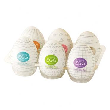 Tenga Eggs Набор одноразовых мастурбаторов