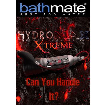 Bathmate Hydromax X20 Xtreme, прозрачный Гидропомпа уменьшенного размера с полным комплектом аксессуаров (размер S)