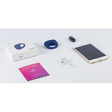 Magic Motion Dante  Перезаряжаемое эрекционное кольцо с вибрацией, управляемое смартофоном