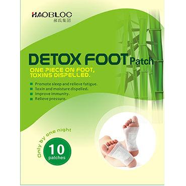 Detox Foot Patch Набор пластырей для выведения токсинов, 10 штук