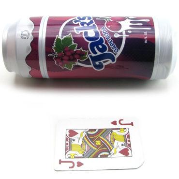 FleshLight Jack's Gape Soda  Попка-мастурбатор в банке виноградной соды