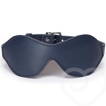 Fifty Shades Darker No Bounds Blindfold Сплошная маска на глаза из натуральной кожи