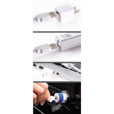 Pipedream iSex USB Luv Ring Виброкольцо для пениса