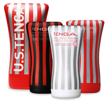 Tenga Soft Tube US Увеличенный мастурбатор для массажа